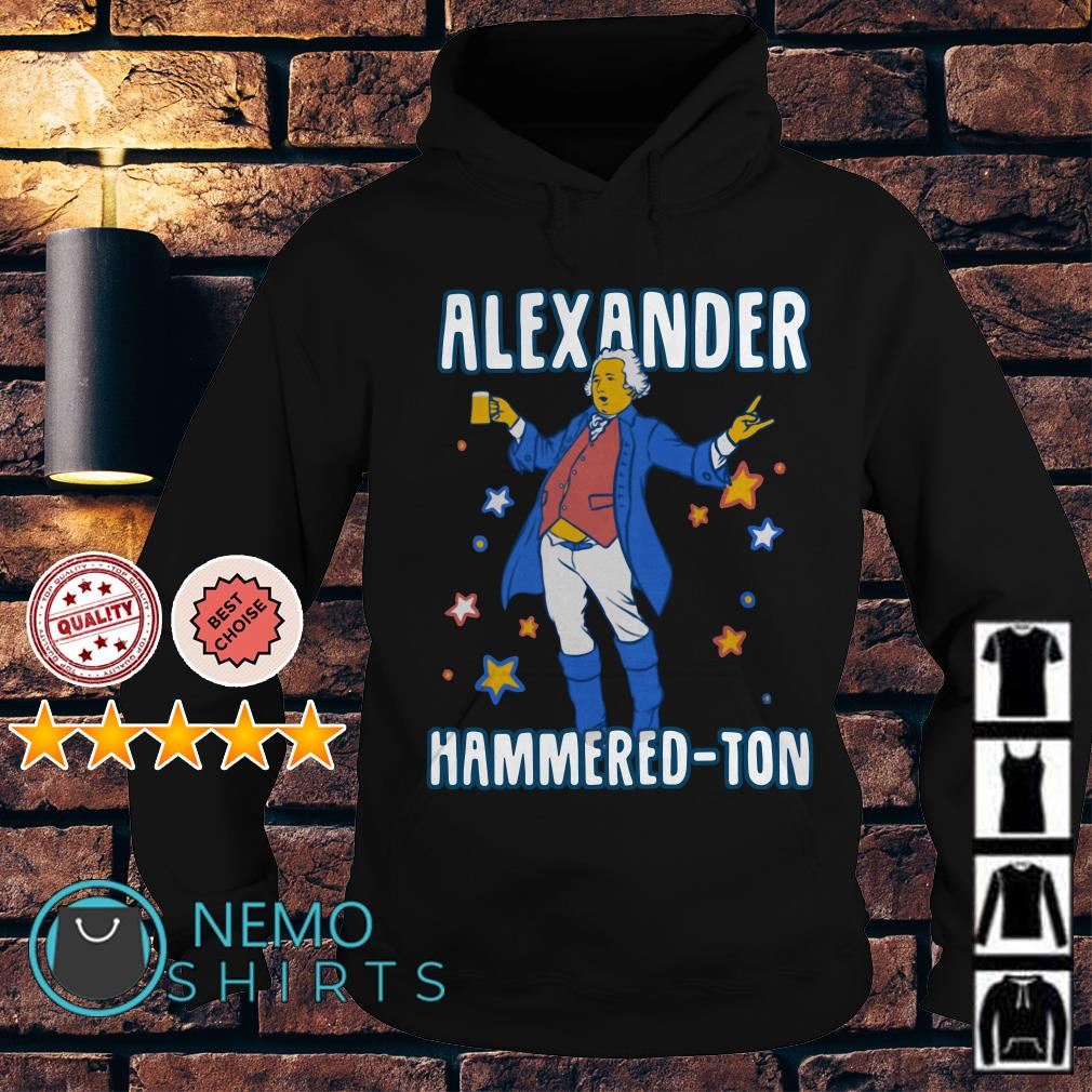 Let's get Alexander Hammered-ton Hoodie