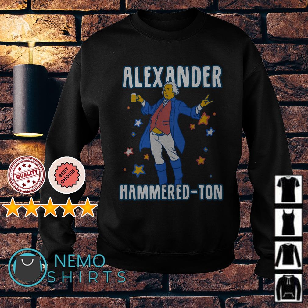 Let's get Alexander Hammered-ton Sweater