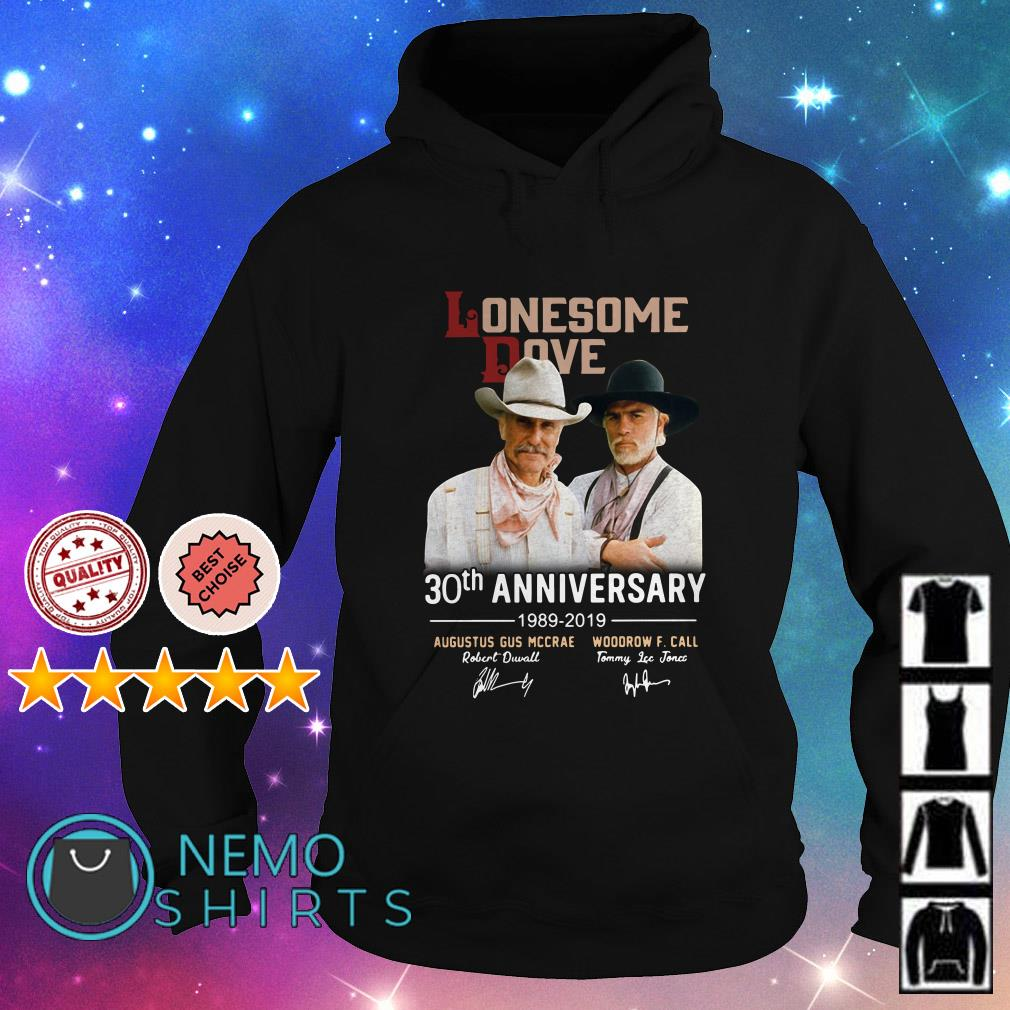 Lonesome Dove 30th anniversary 1989 2019 signature Hoodie