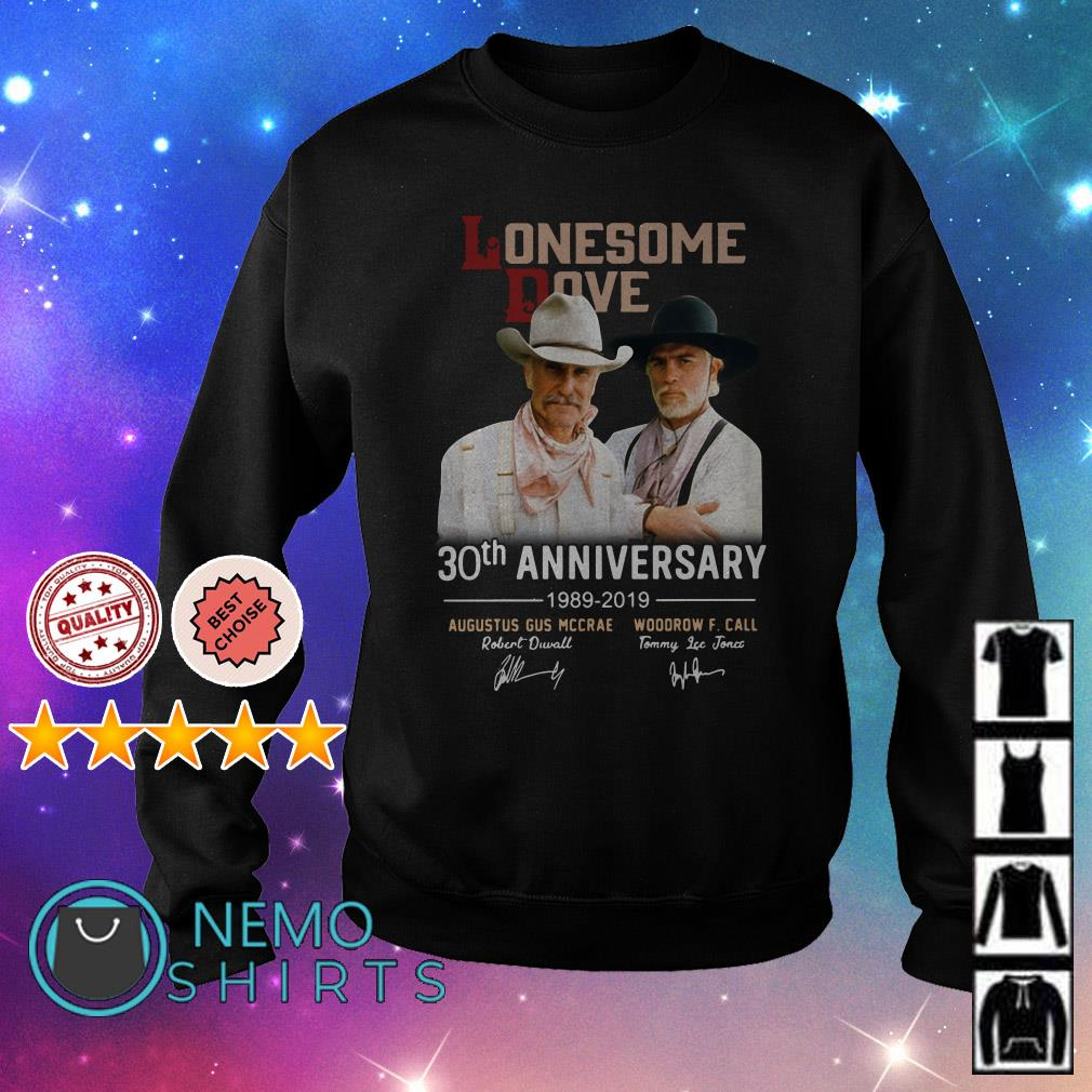 Lonesome Dove 30th anniversary 1989 2019 signature Sweater