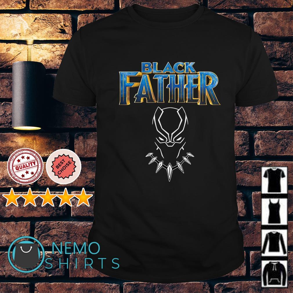 Marvel Avengers Black Panther Black Father shirt