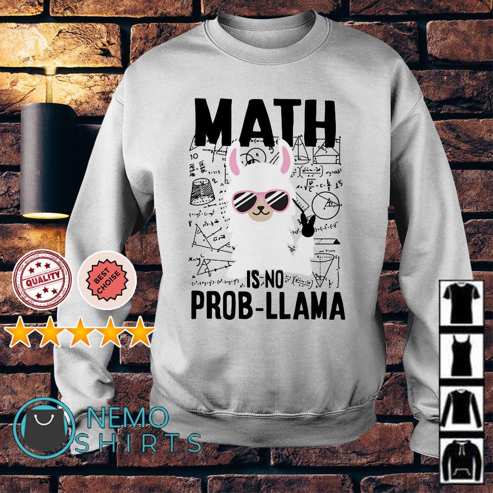 Math is no prob llama Sweater