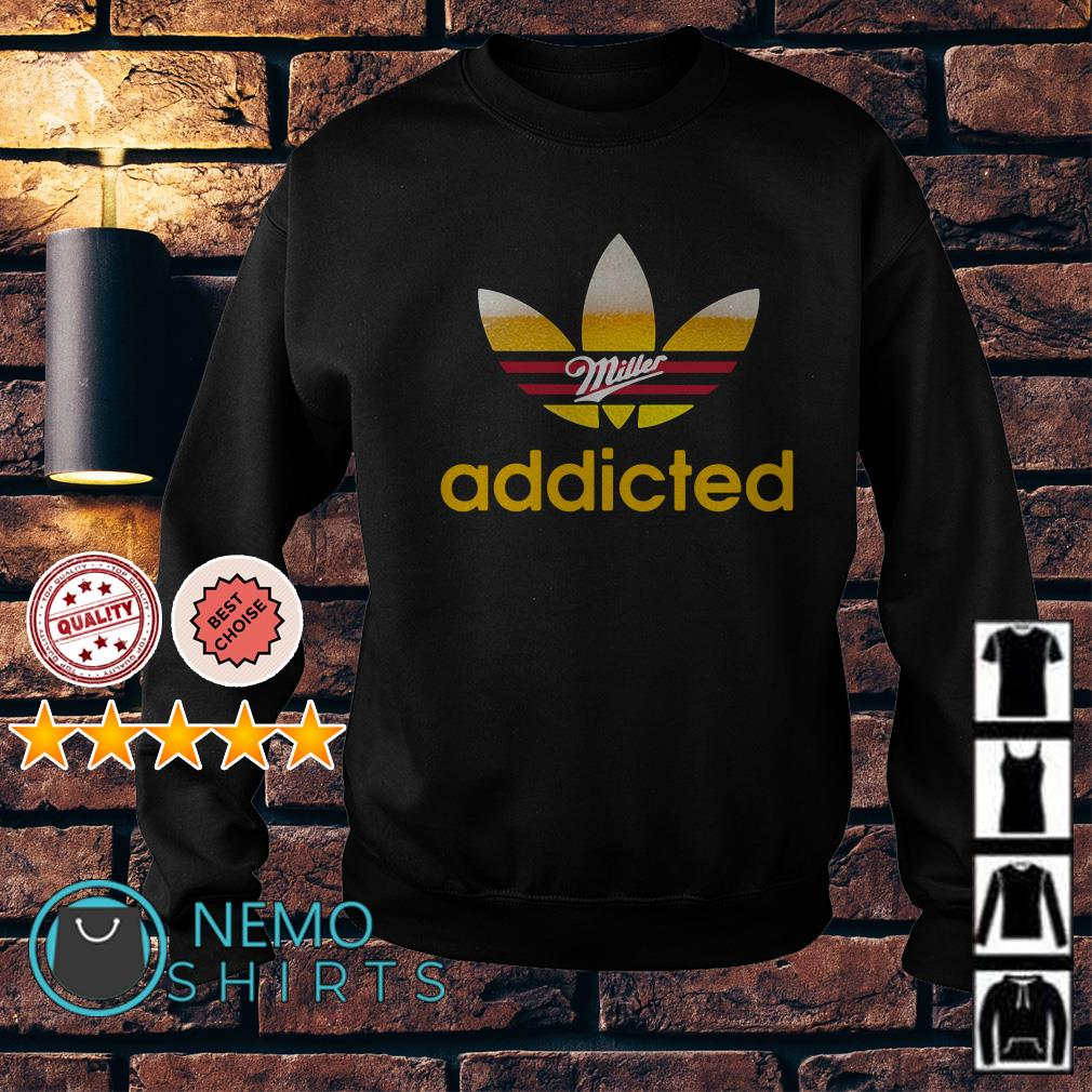 Miller Light Adidas addicted Sweater