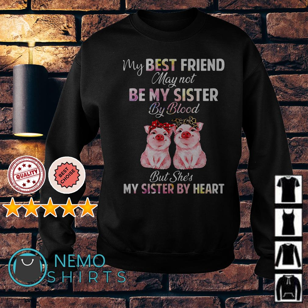 Pig my best friend may not be my sister by blood Sweater