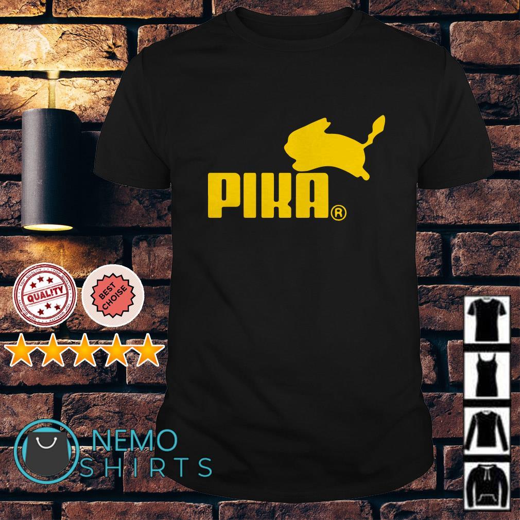 Pokemon Pikachu Puma Pika shirt