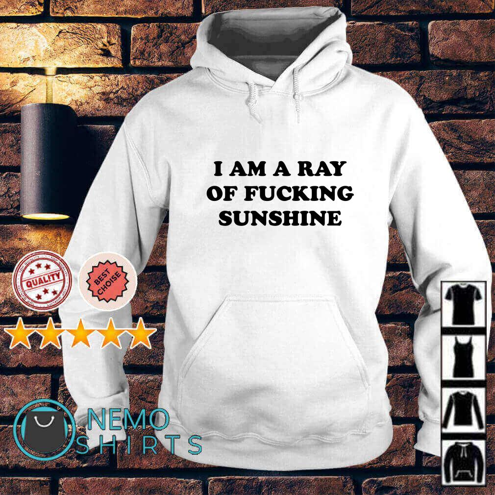 I am a ray of fucking sunshine Hoodie