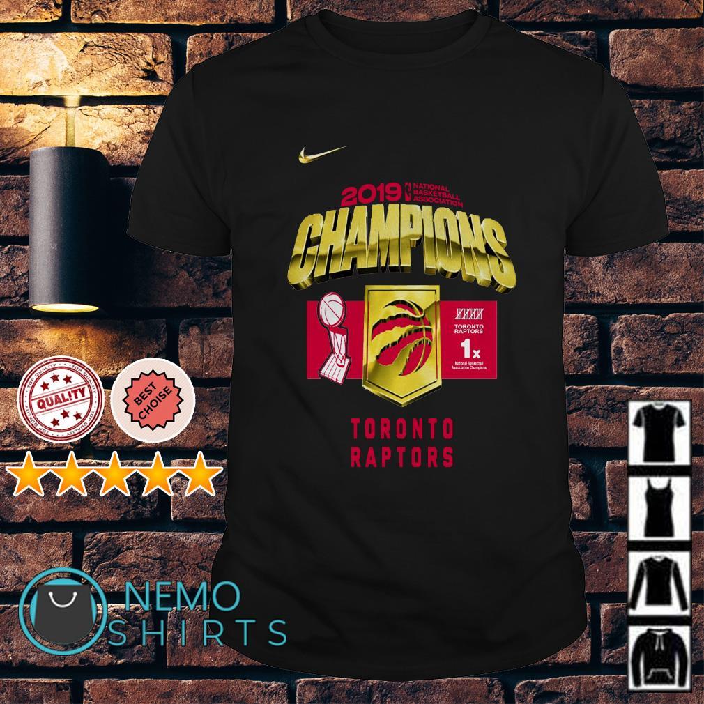 Toronto Raptors championship shirt
