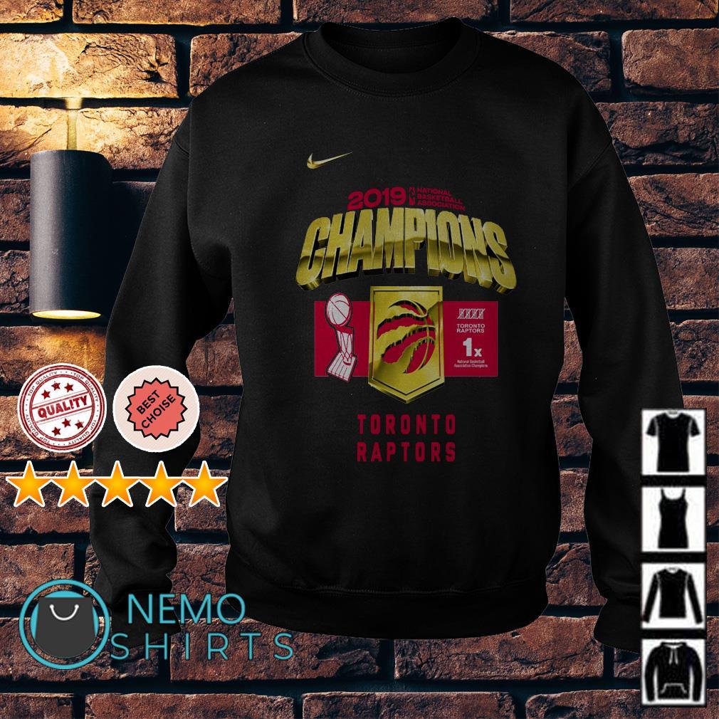 Toronto Raptors championship Sweater