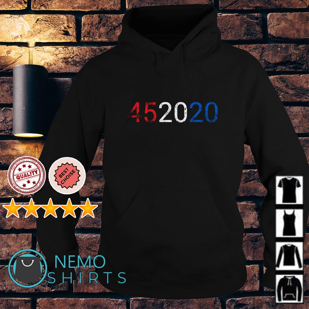 Trump 45 in 2020 Reelection 4th of July Hoodie