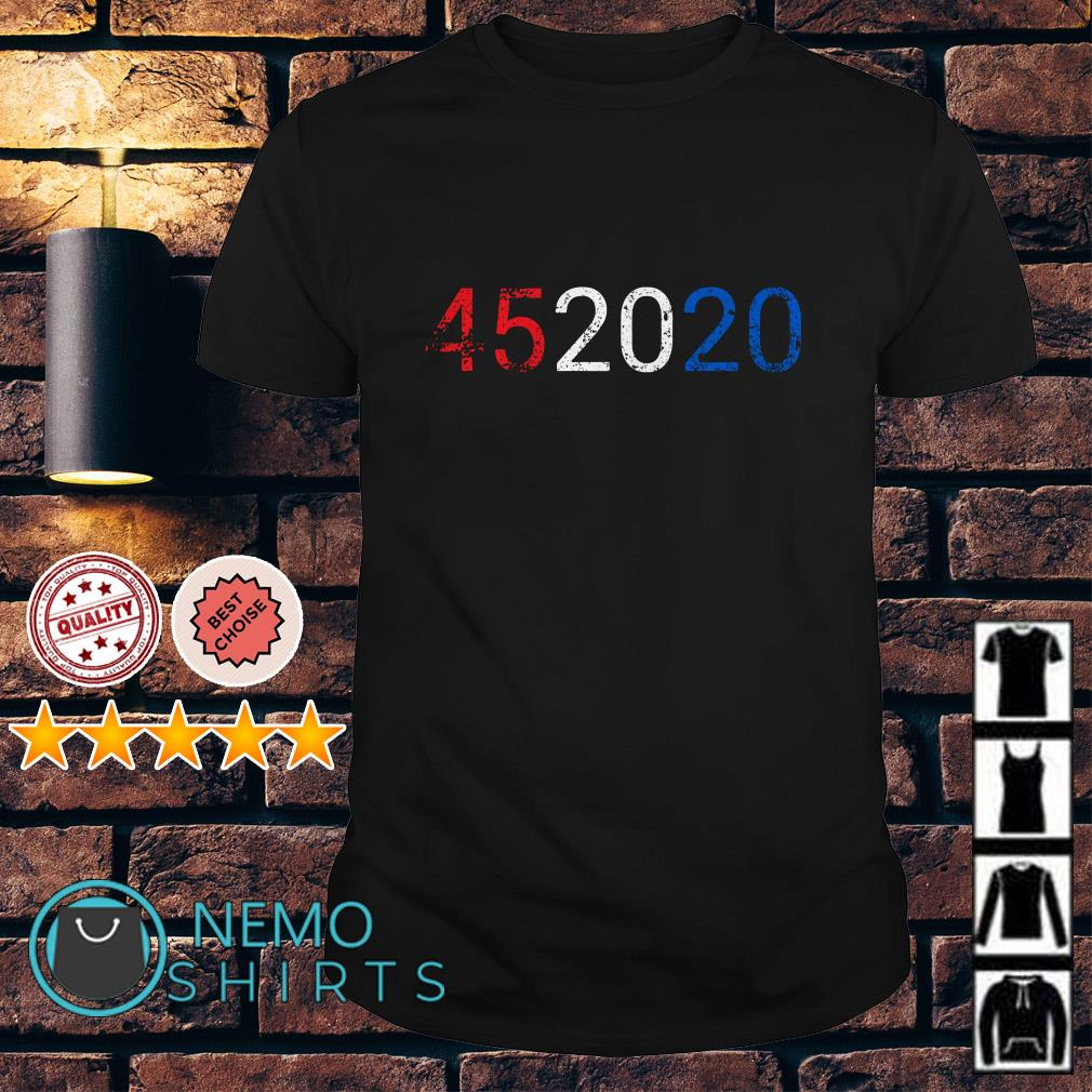 Trump 45 in 2020 Reelection 4th of July shirt