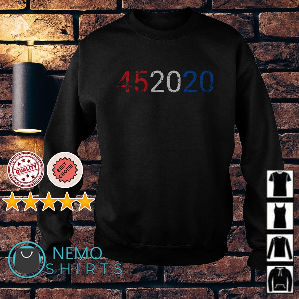 Trump 45 in 2020 Reelection 4th of July Sweater