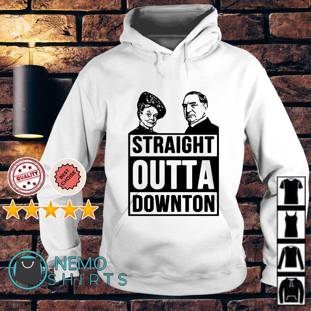 Violet Crawley and Robert Crawley Straight outta downton Hoodie