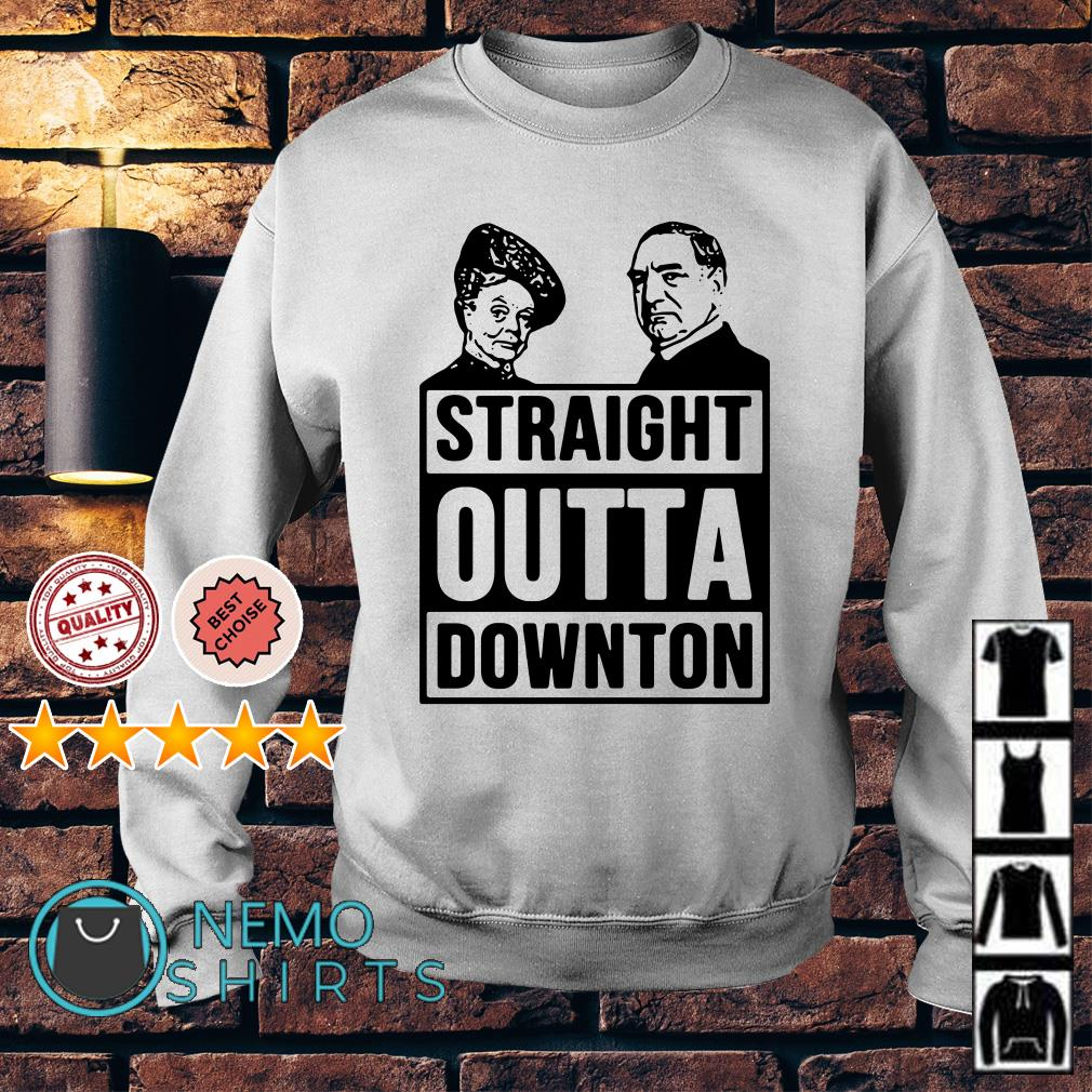 Violet Crawley and Robert Crawley Straight outta downton Sweater