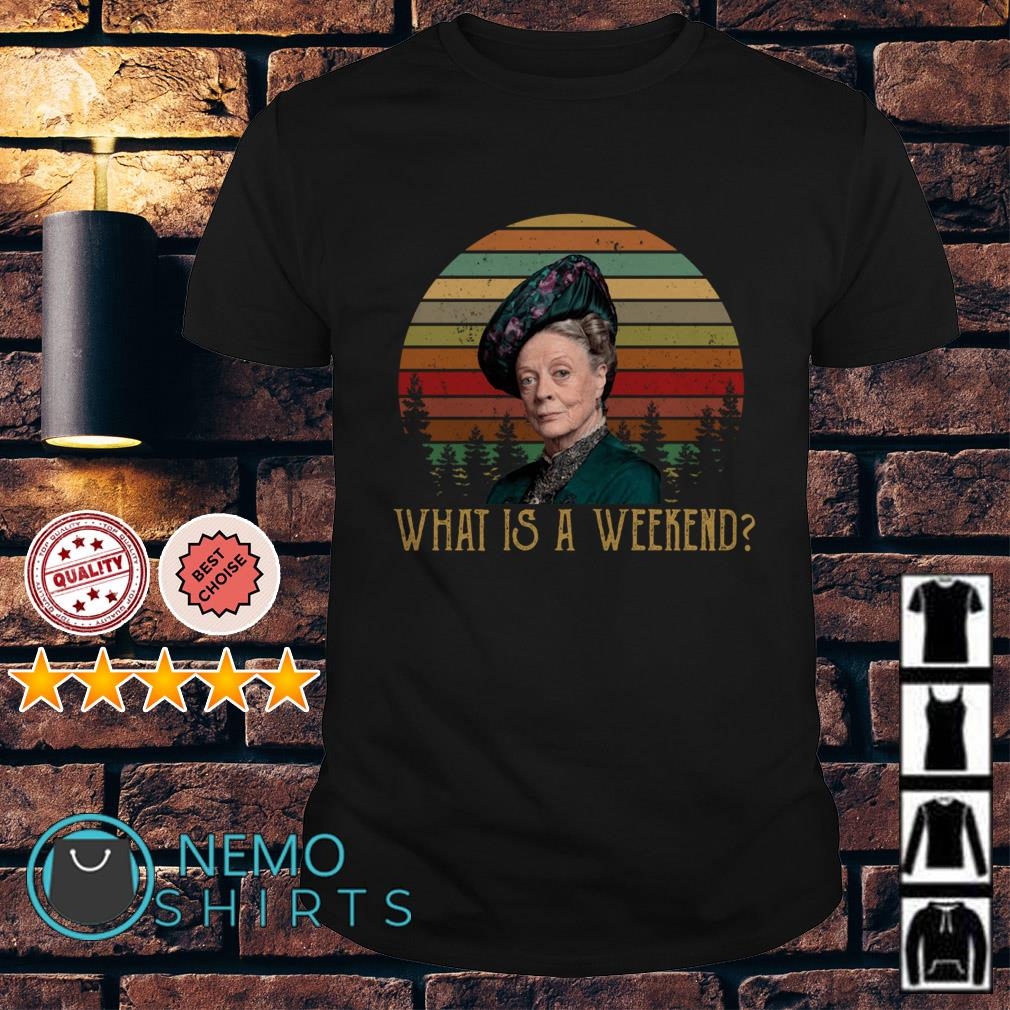 Violet Crawley what is a weekend vintage shirt