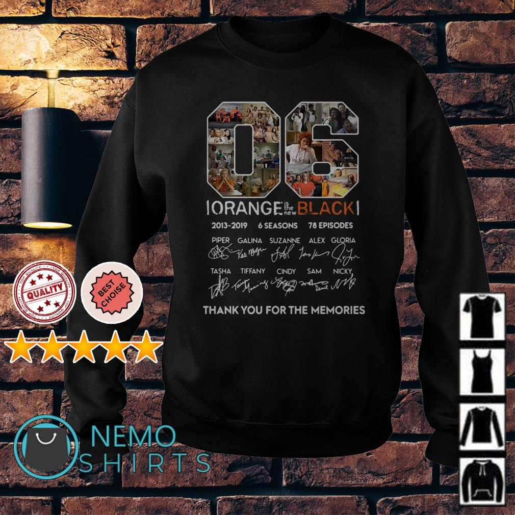 06 Orange is the new Black thank you for the memories Sweater