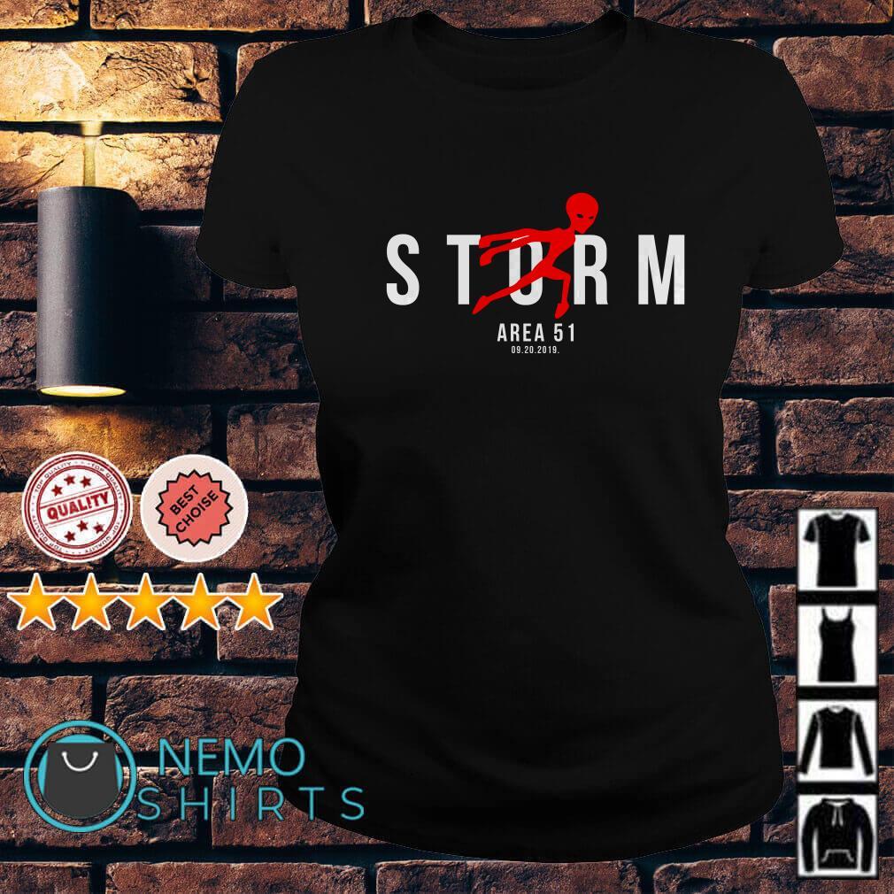 Alien Storm Area 51 09.20.2019 Air Jordan Ladies Tee