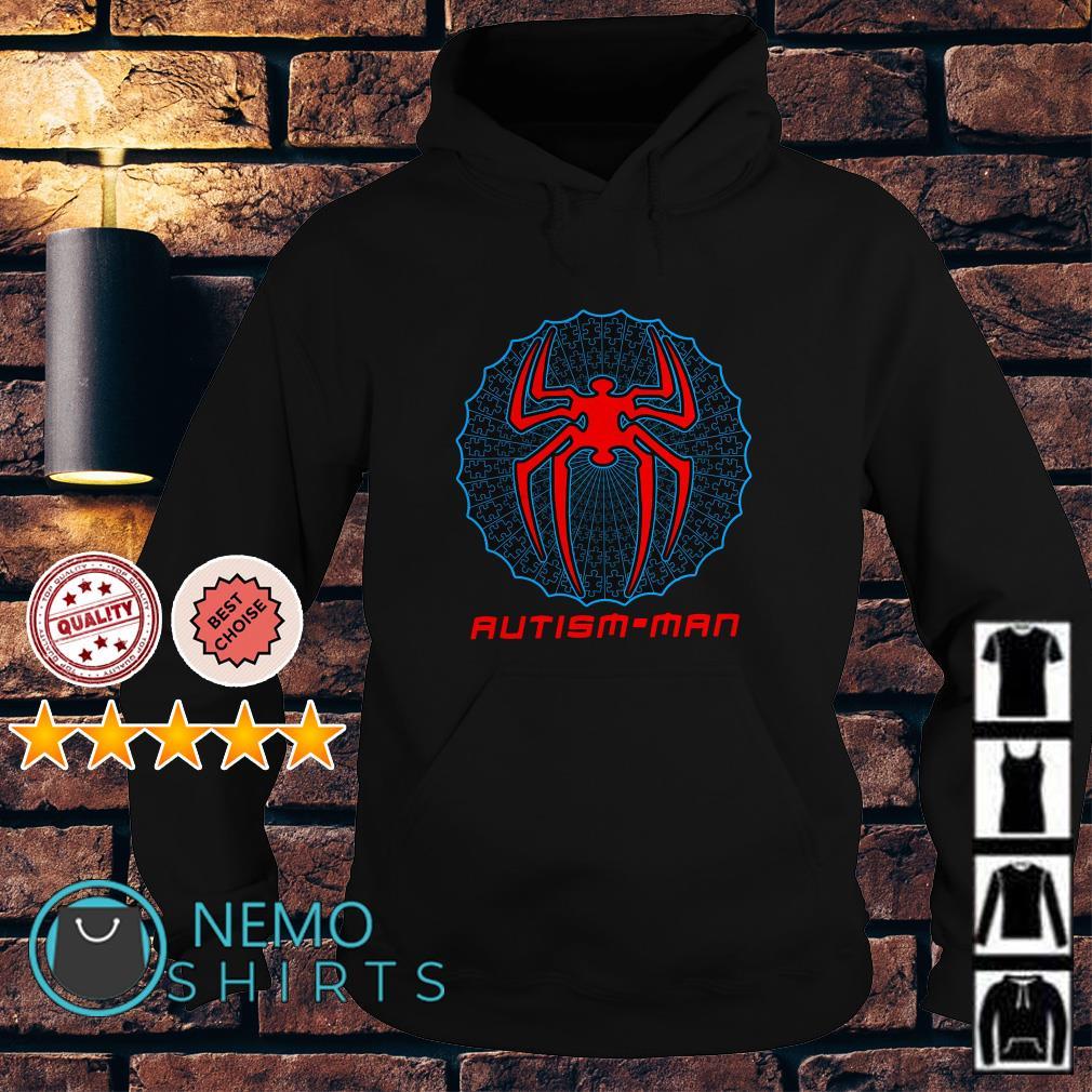 Autism Spider Man Autism Man Hoodie