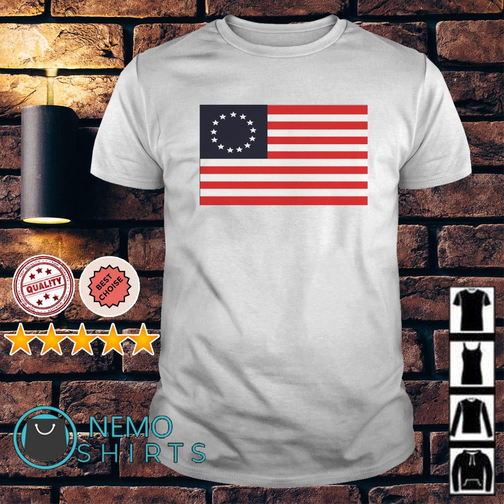Betsy Ross Flag vintage shirt