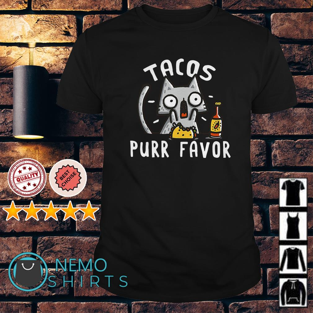 Cat Tacos purr favor shirt