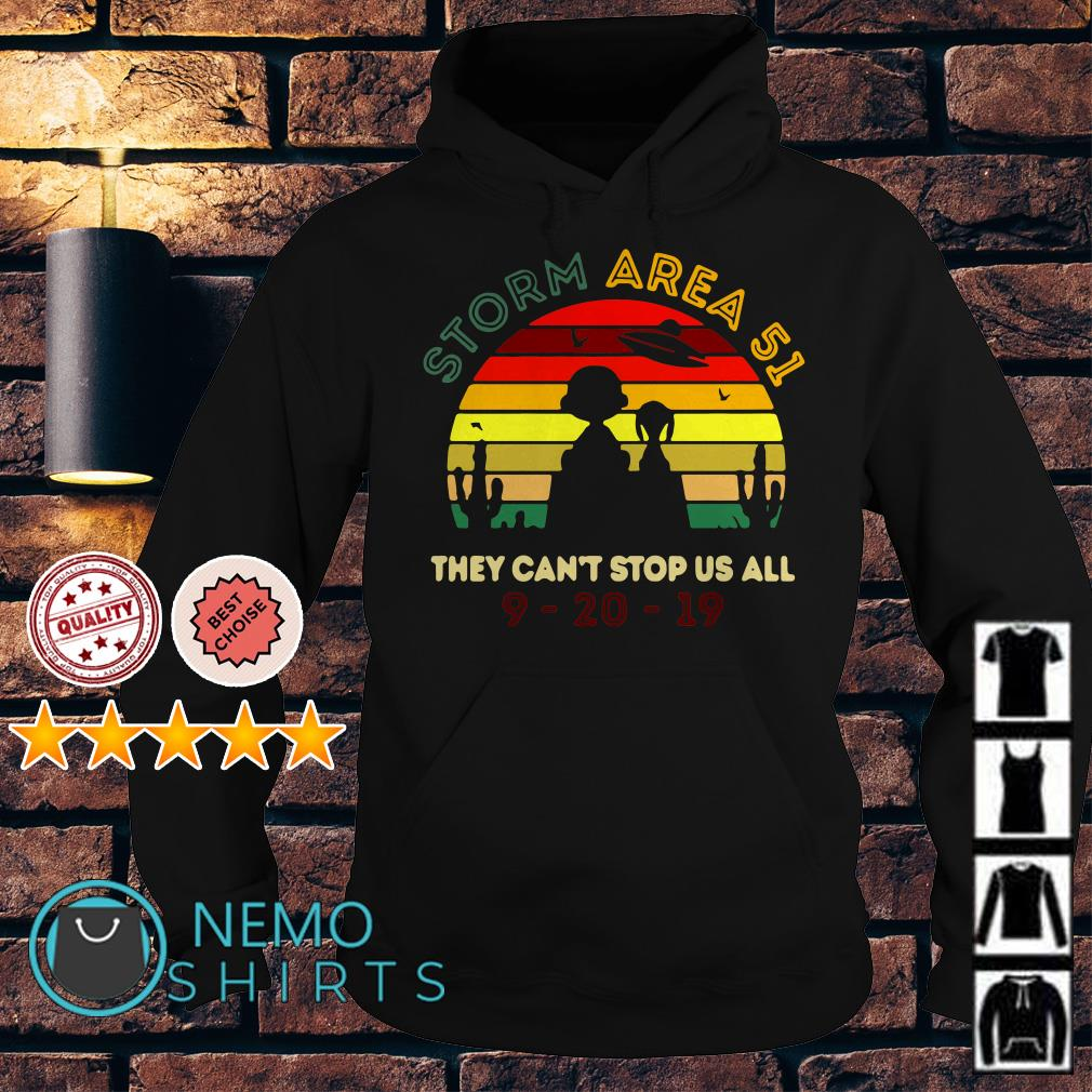 Charlie Brown and Snoopy Storm Area 51 they can't stop us all Hoodie