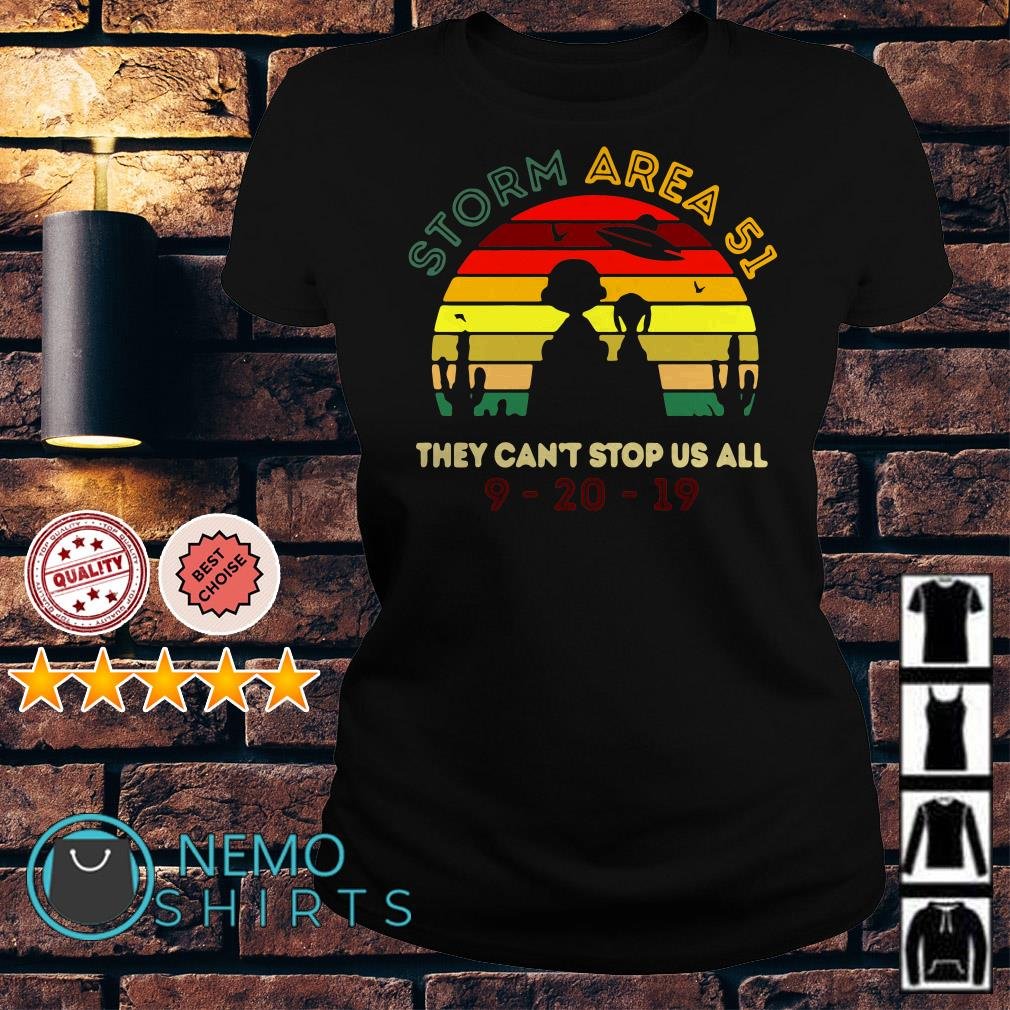 Charlie Brown and Snoopy Storm Area 51 they can't stop us all Ladies tee