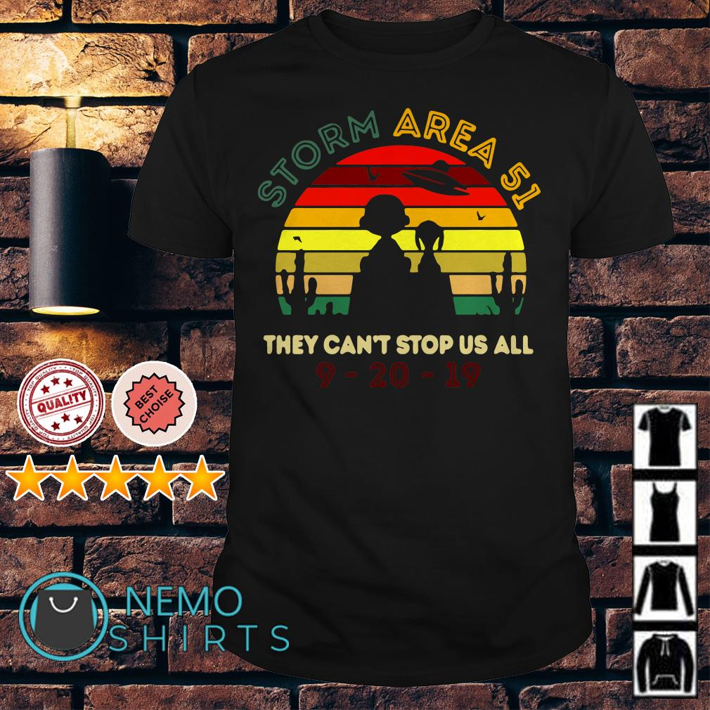 Charlie Brown and Snoopy Storm Area 51 they can't stop us all shirt