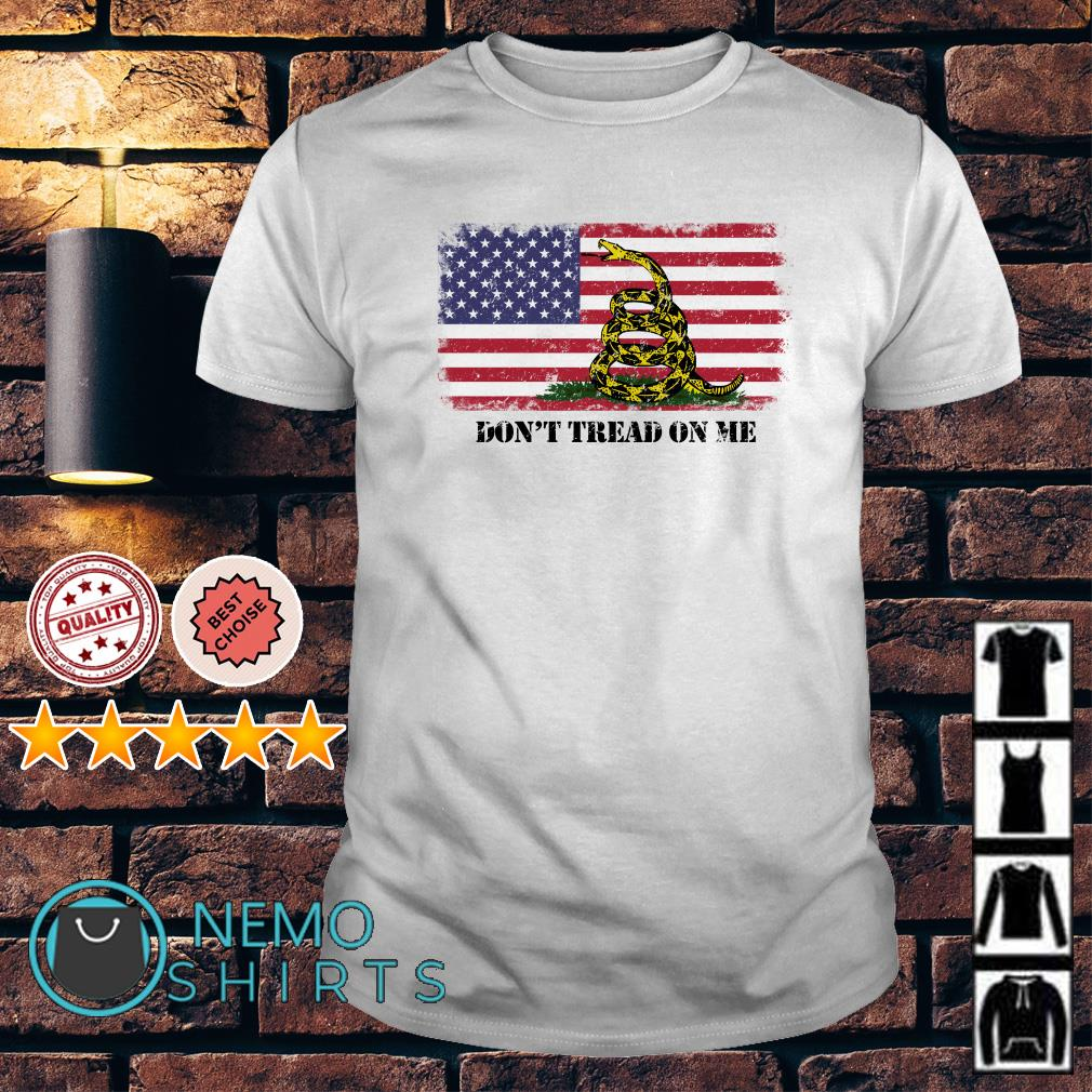 Chris Pratt Dont Tread On Me American flag shirt
