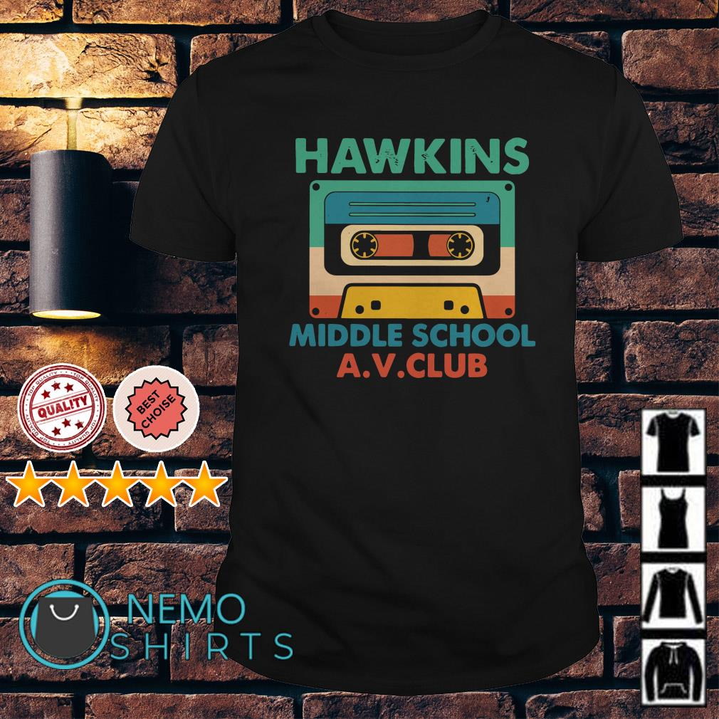 Compact Cassette hawkins middle school shirt