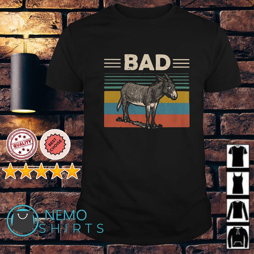 Donkey bad vintage shirt