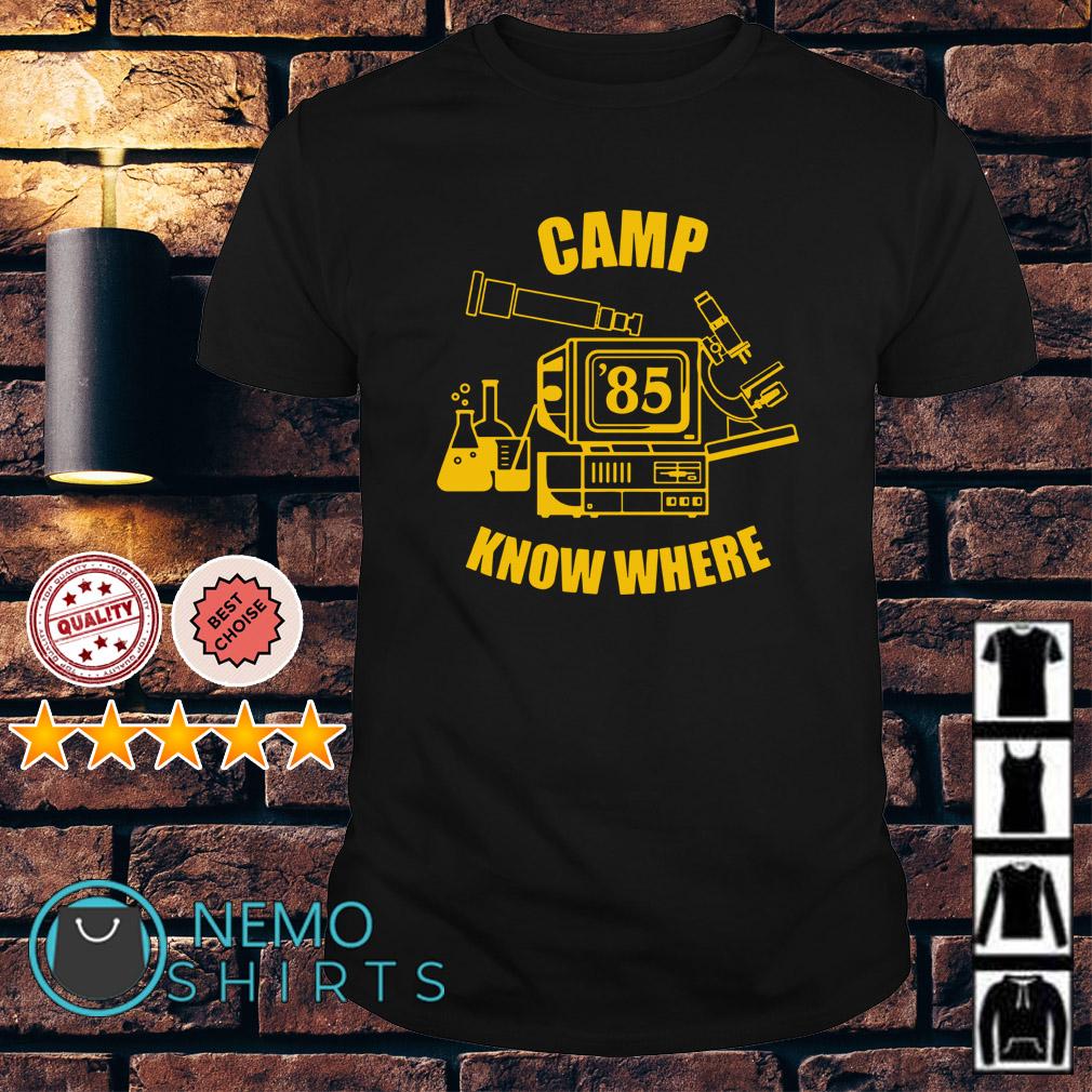 Dustin Camp know where shirt