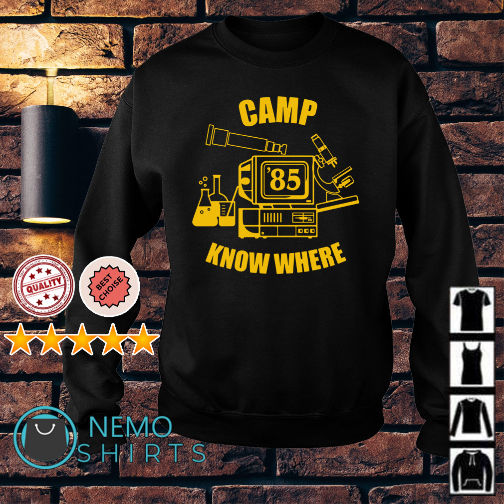 Dustin Camp know where Sweater
