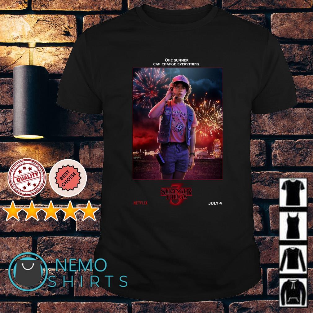 Dustin Henderson Stranger Things season 3 shirt