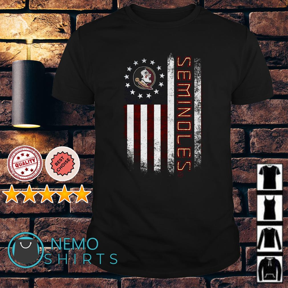 Florida State Seminoles American flag shirt