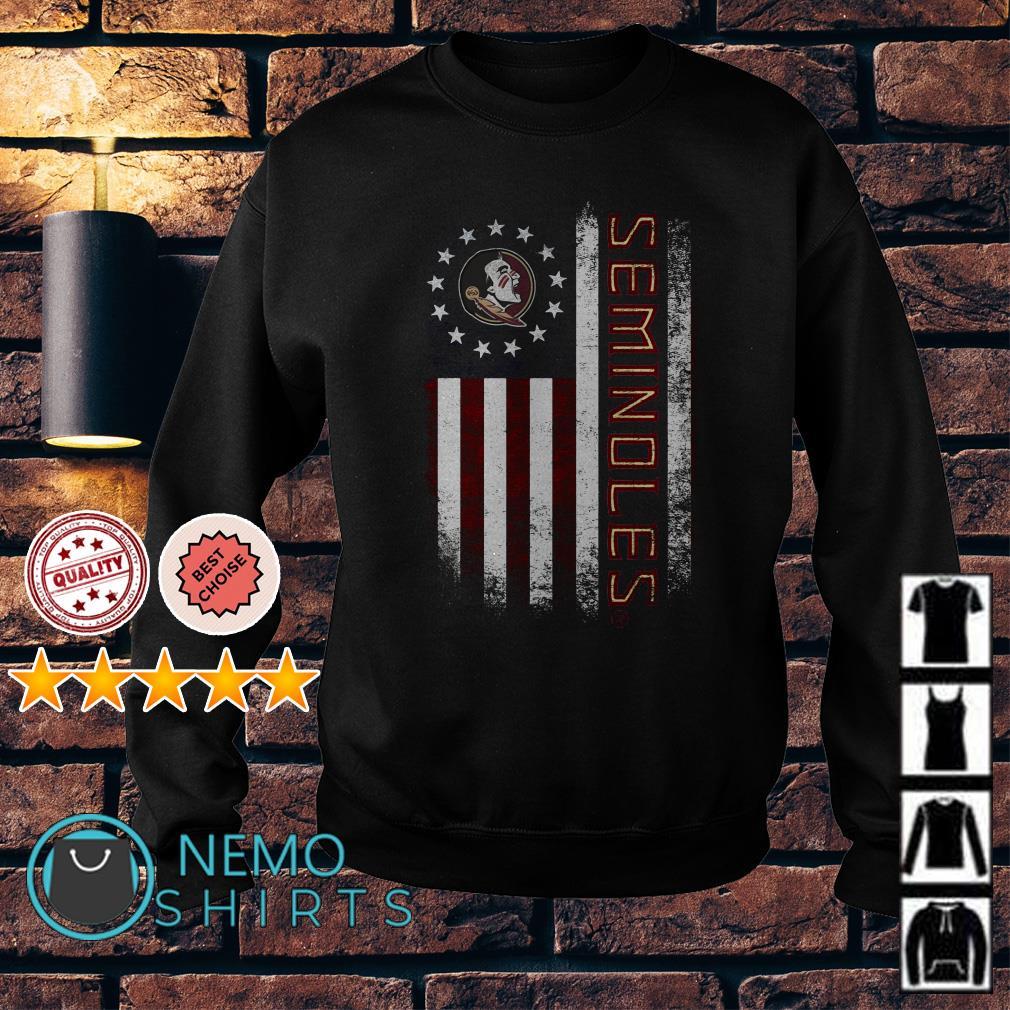 Florida State Seminoles American flag Sweater