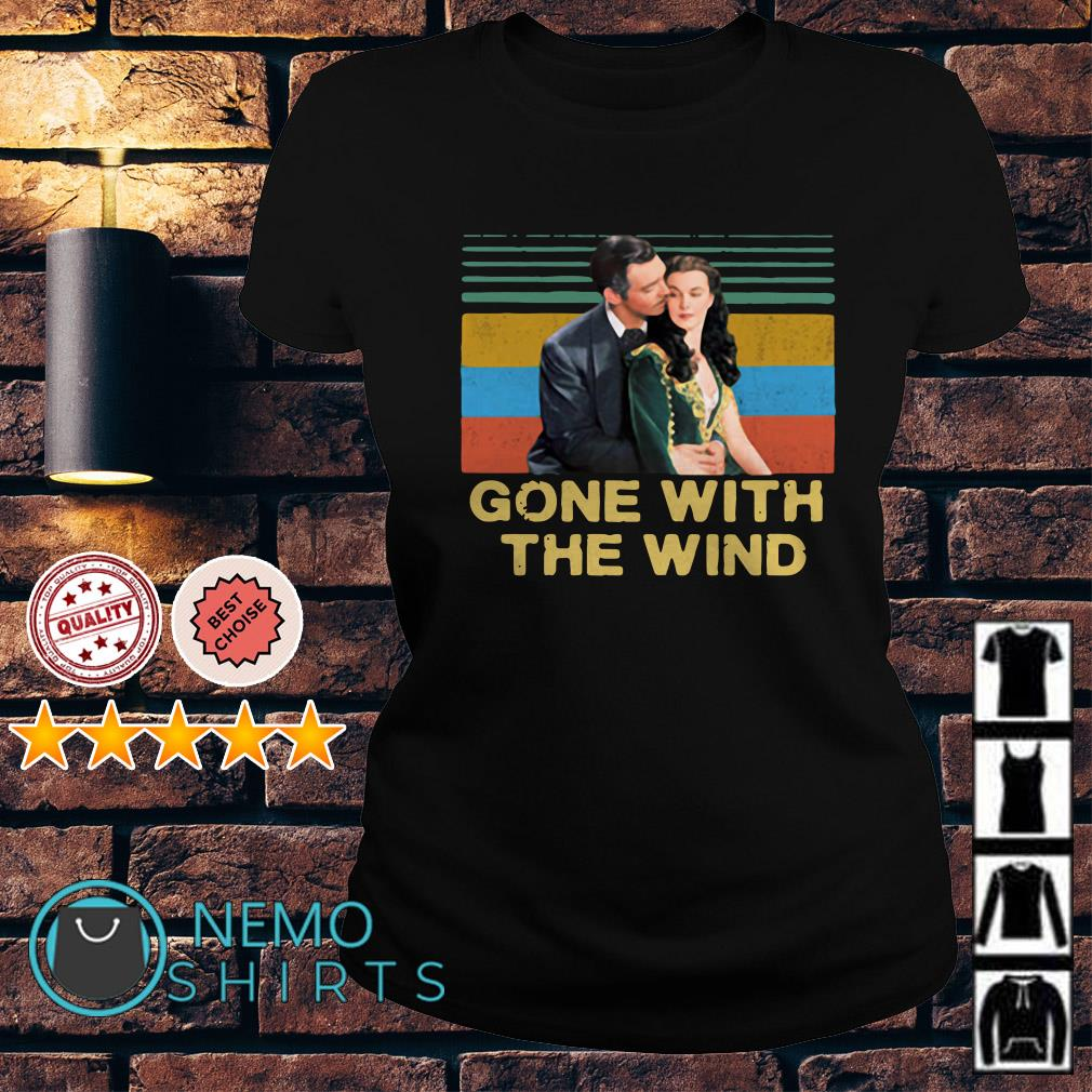 Gone With The Wind vintage Ladies Tee