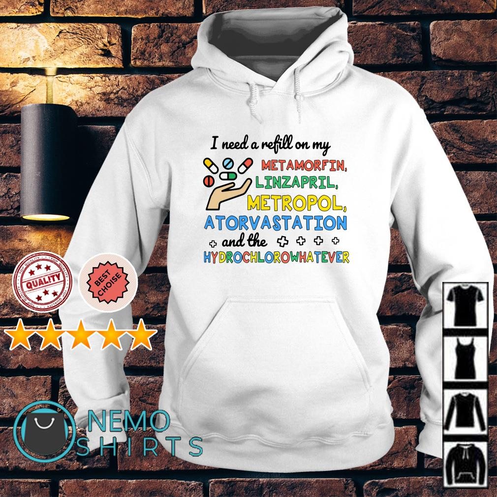 I need a refill on my metamorfin linzapril metropol atorvastation Hoodie