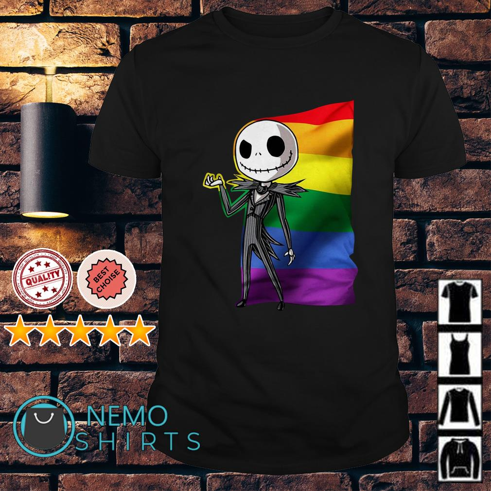 Jack Skellington LGBT Pride shirt