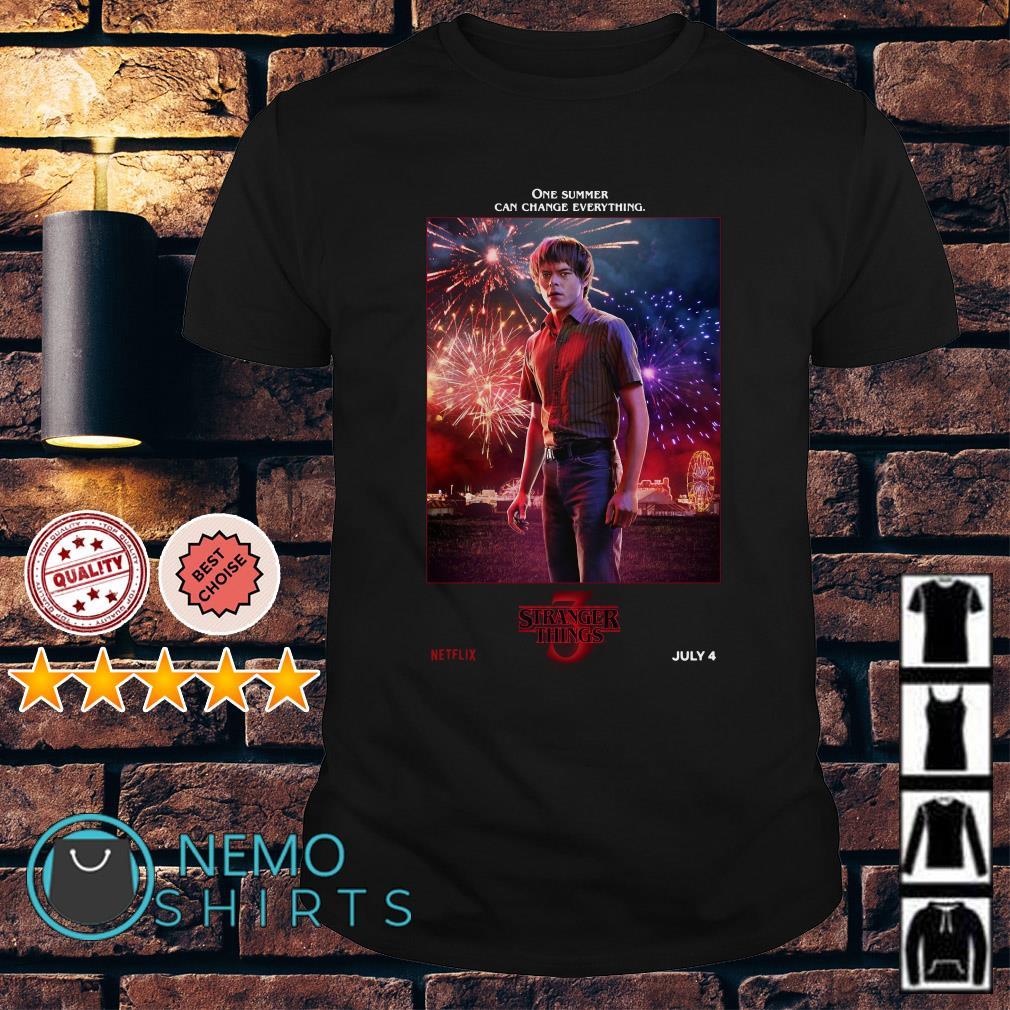 Jonathan Byers Stranger Things season 3 shirt