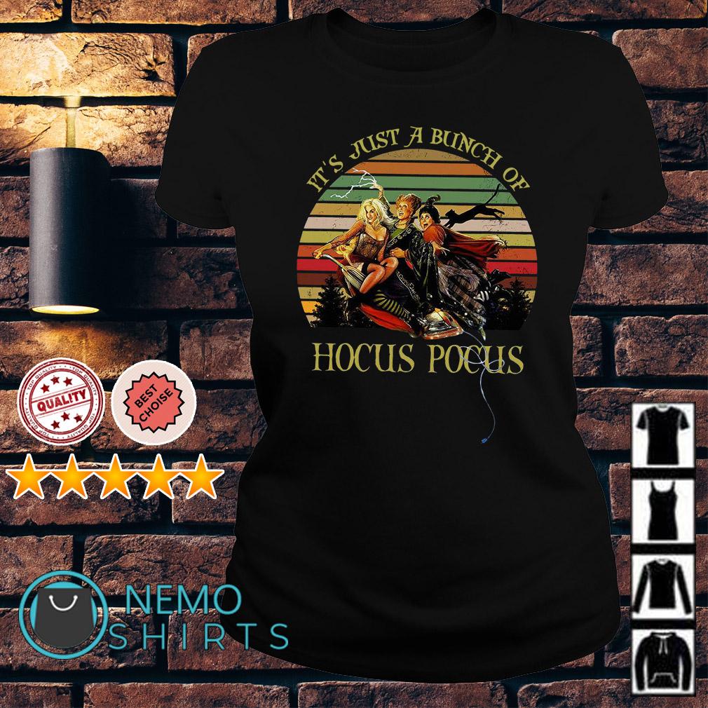 It's just a bunch of Hocus Pocus vintage Ladies tee