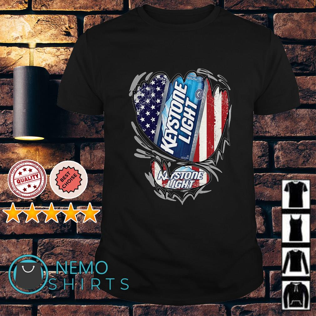 Keystone Light inside me Independence day shirt