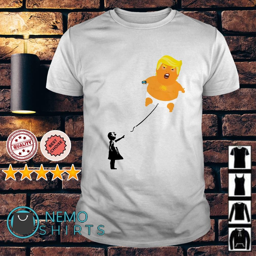 Kids with Baby Trump Balloon shirt
