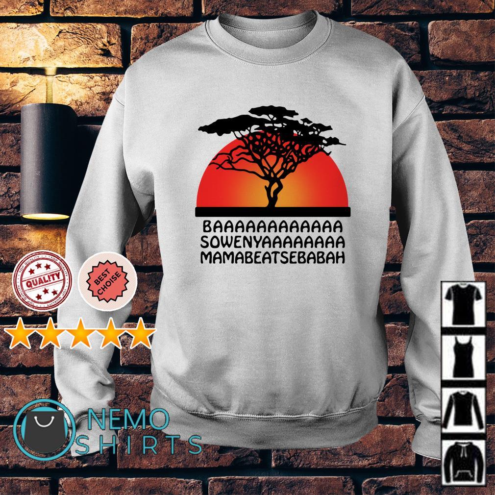 The Lion King Baaaaaaaa sowenyaaaaa mamabeatsebabah Sweater