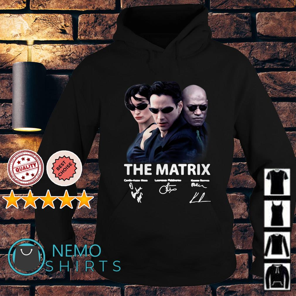 The Matrix signature Hoodie