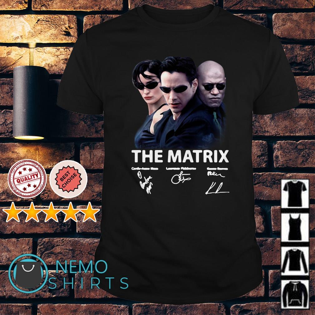 The Matrix signature shirt