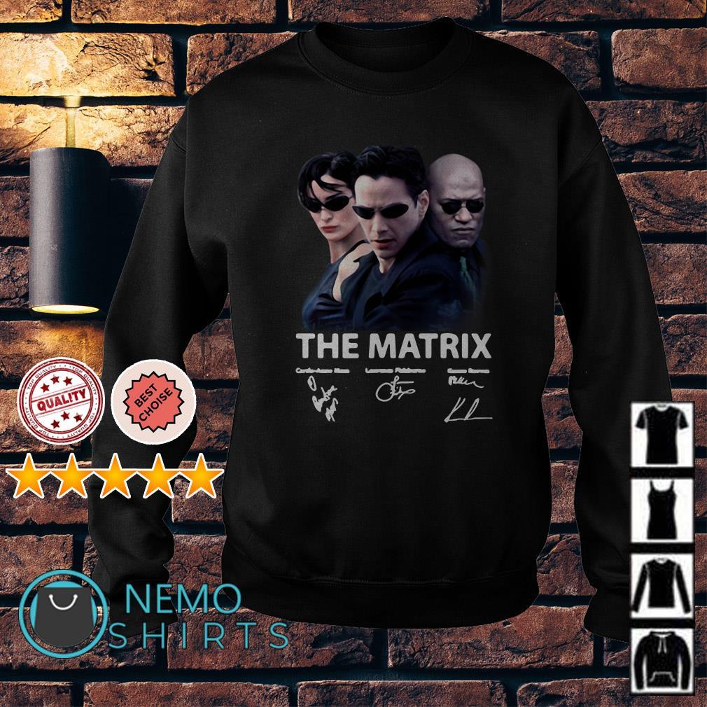 The Matrix signature Sweater