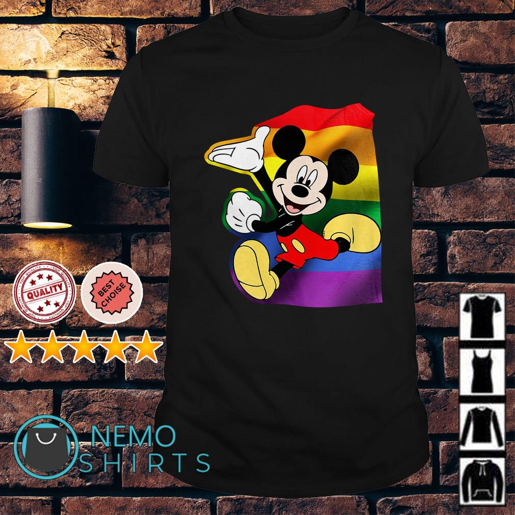 Mickey Mouse Pride LGBT shirt