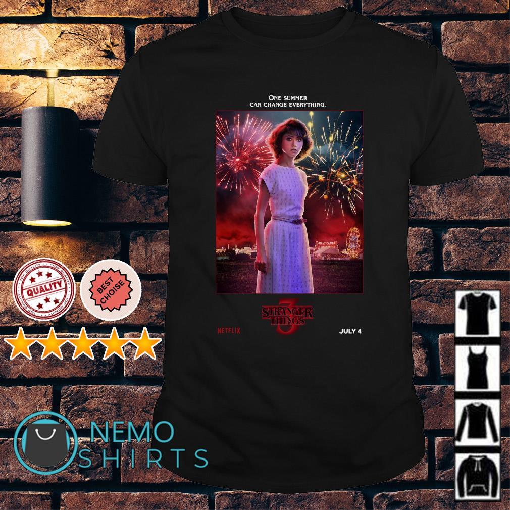Nancy Wheeler Stranger Things season 3 shirt