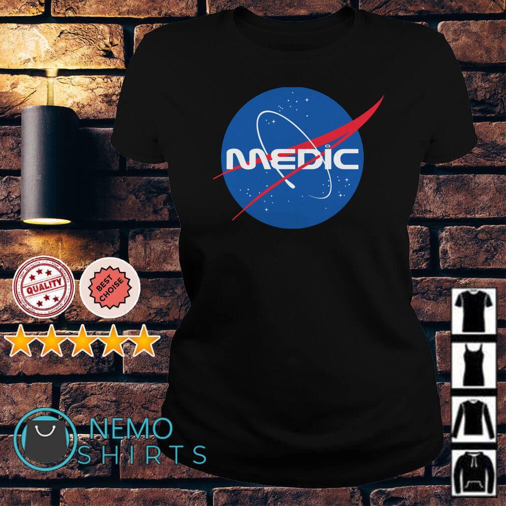 Nasa Space Force Medic Ladies tee