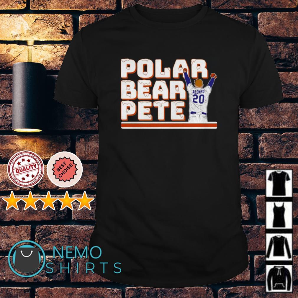 Polar Bear Pete Alonso shirt
