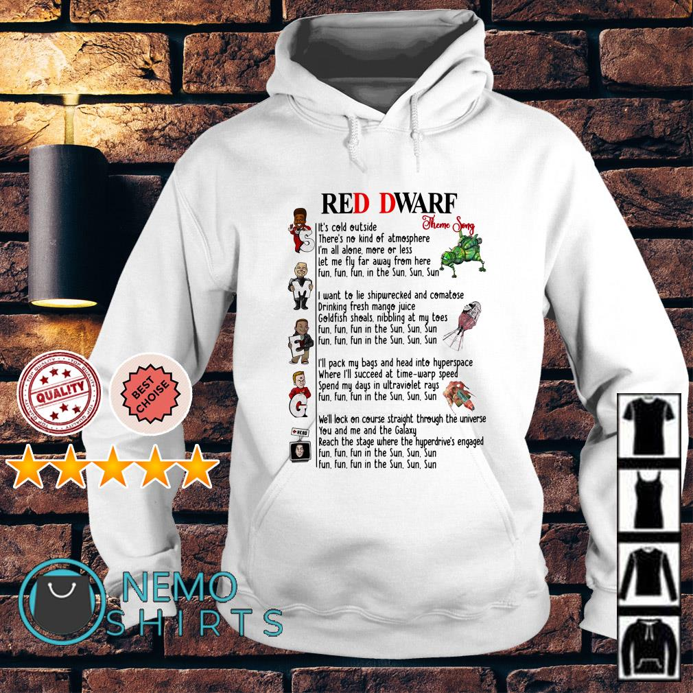 Smeg Red Dwarf theme song Hoodie